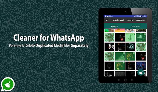 Pembersih WhatsApp :Penghapus File Sampah WhatsApp - náhled