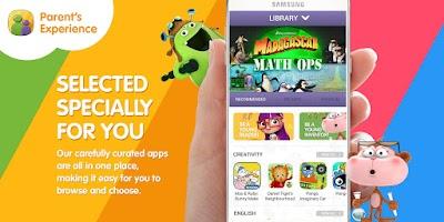 Screenshot of Samsung KidsTime Lite for Kids