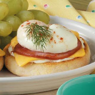 Bacon-Egg English Muffin.