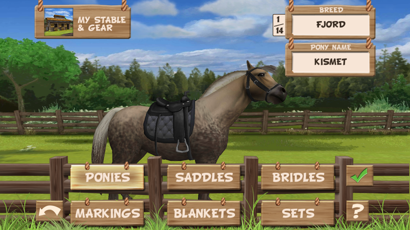 Pony Trails- screenshot