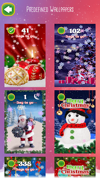 ... Christmas Countdown Wallpaper poster ...