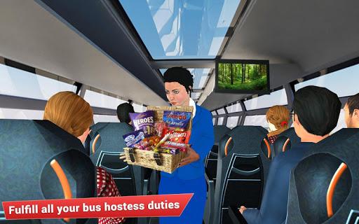 Virtual girl tourist bus waitress jobs : Dream Job 1.5 screenshots 9