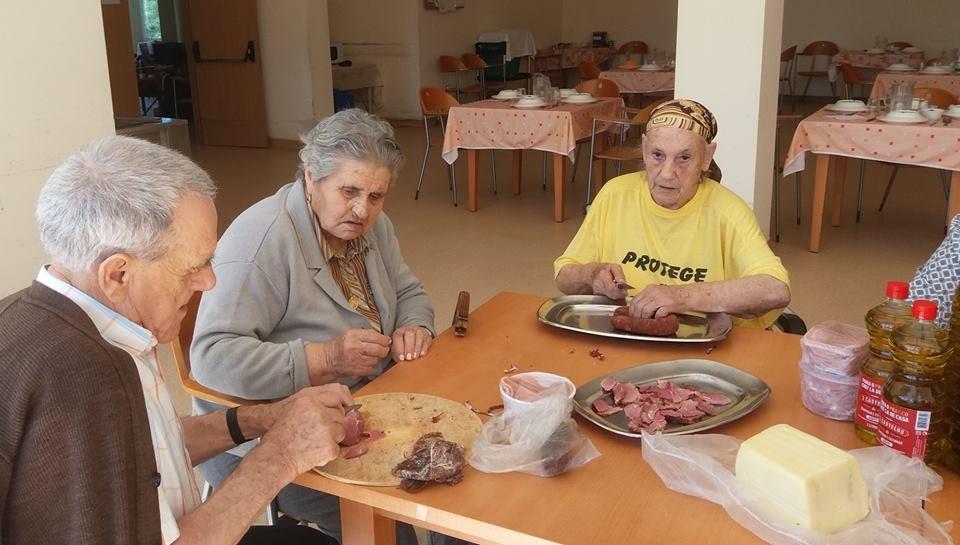 Misericórdia de Lamego junta miúdos e graúdos no Dia dos Avós