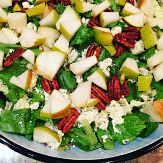Pear Blue Cheese Salad