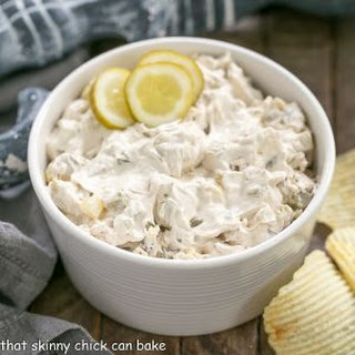Easy Dill Pickle Dip.