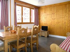 Photo: Coin salon d'un appartement de la résidence