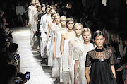 WAIFS: Models show clothes by Italian designer Alessandro Dell'Acqua at Paris Fashion Week. The French government wants models to prove they are within a healthy weight range, saying they influence the body aesthetic of girls at risk of anorexia