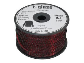 Taulman Red T-Glase - 1.75mm (1lb)