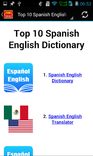 Spanish English Apps
