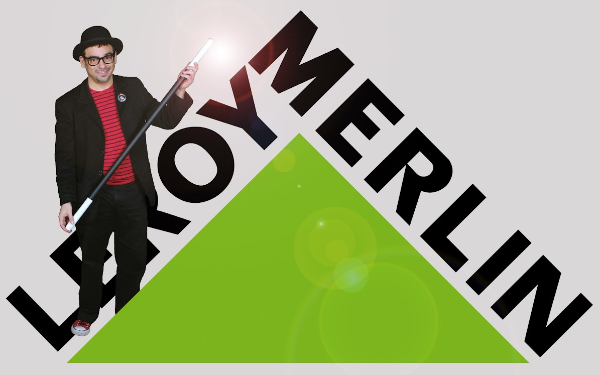 show de magia y globoflexia de mago madrid en leroy merlin 2017