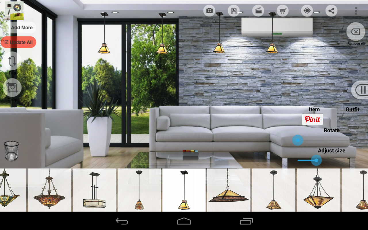 virtual home decor design tool android apps on google play. Black Bedroom Furniture Sets. Home Design Ideas
