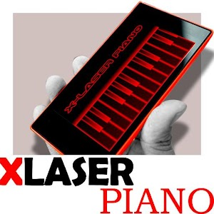 X-Laser Piano Simulated for PC and MAC