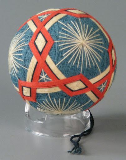 Folk toy:temari ball