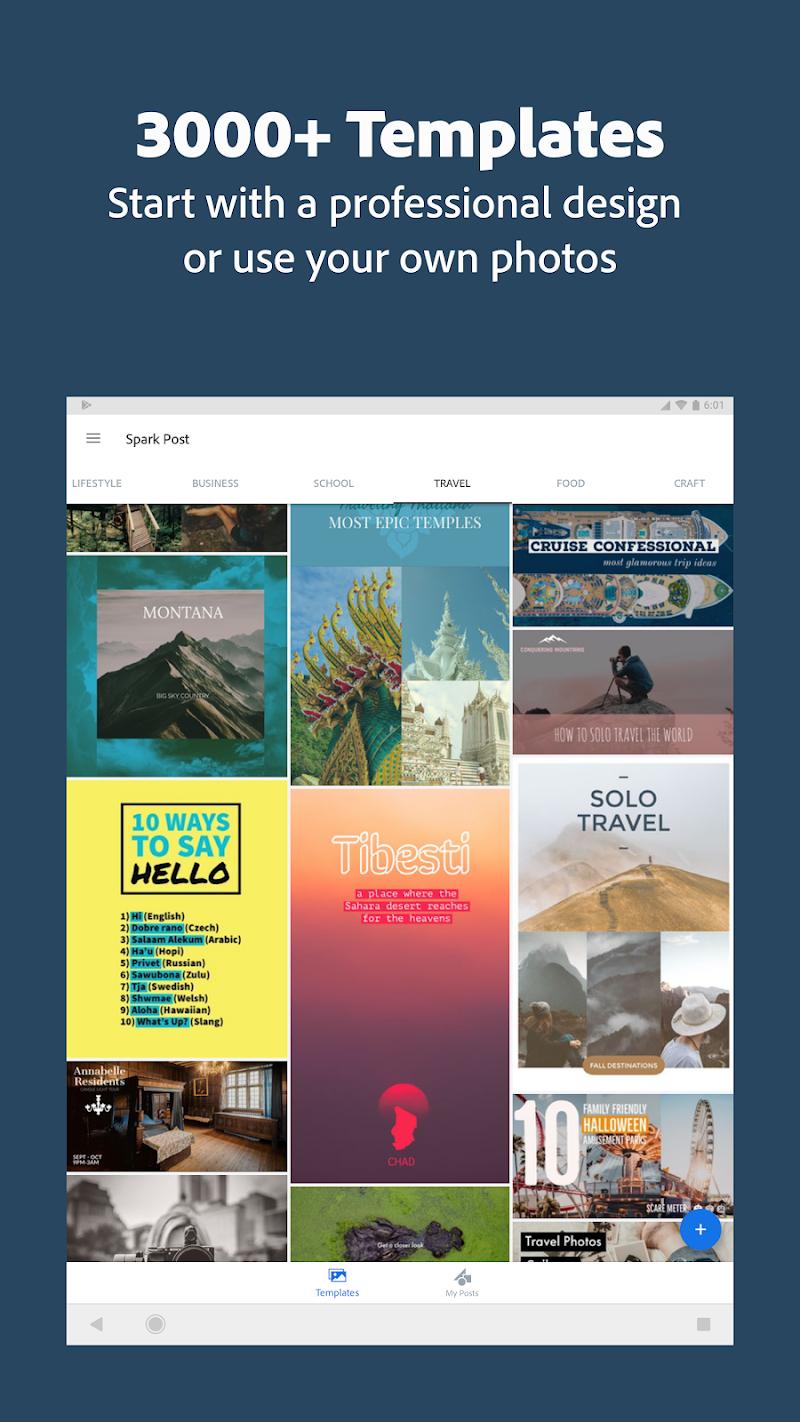 Adobe Spark Post: Graphic design made easy Screenshot 14
