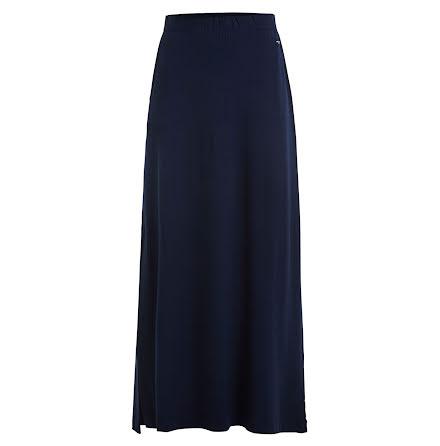 Holebrook Elsa maxi skirt navy