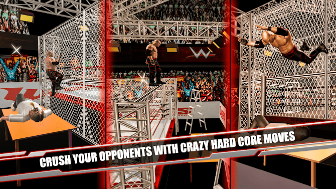 Cage Revolution Wrestling World : Wrestling Game Android 14