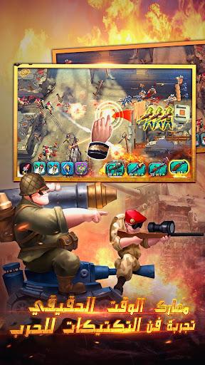 War in Pocket: u062cu0646u0631u0627u0644 apkpoly screenshots 2