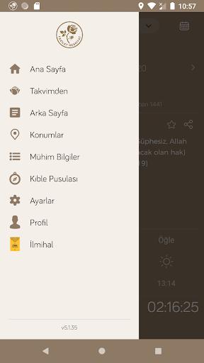 Fazilet Calendar 2020 screenshot 3