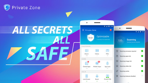 Private Zone - AppLock, Video & Photo Vault 5.0.8 screenshots 1