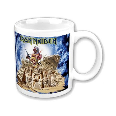 Iron Maiden - Somewhere Back In Time  - Mug