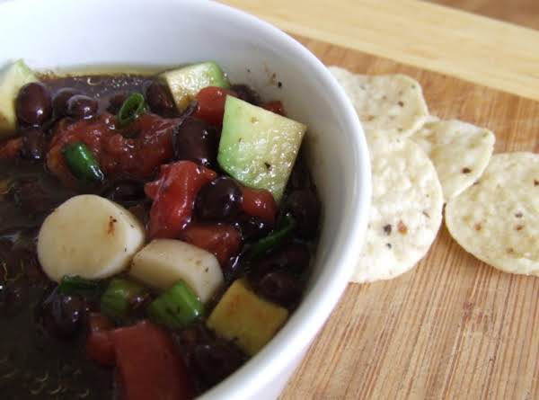 Magic Black Bean Salsa Recipe