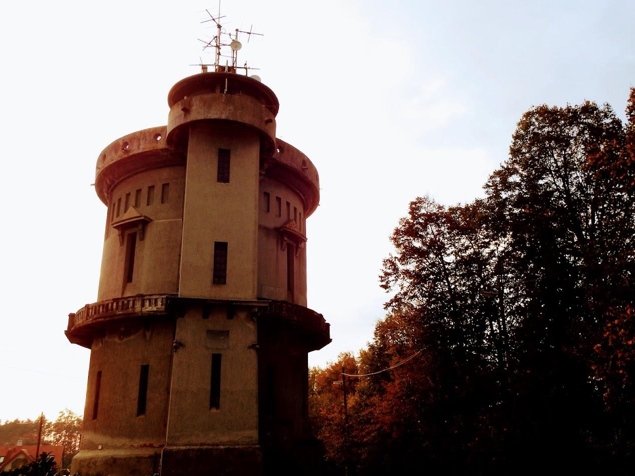 Szombathely/Középhegy, víztorony - helyi URH-FM adóállomás