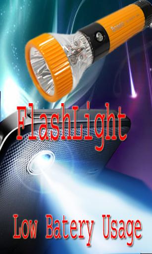 FlashLight Emergency Low Bat