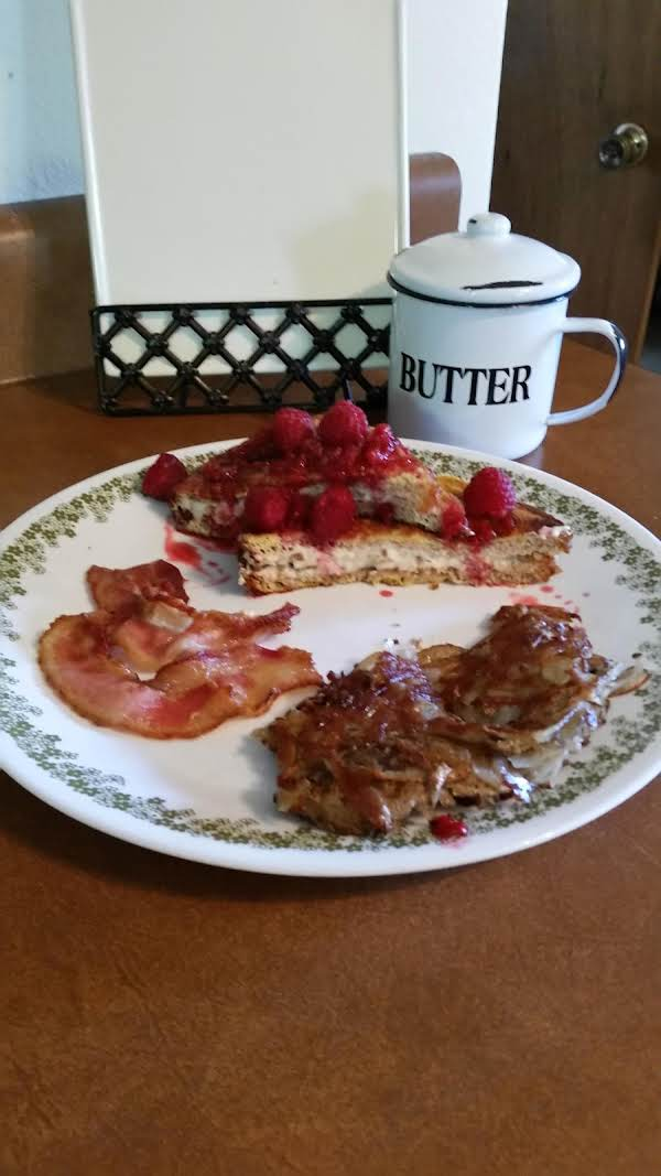 Stuffed French Toast ( For Two)