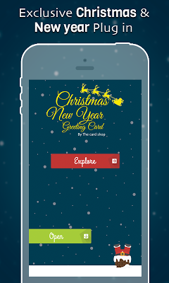 Christmas & New Year Cards - screenshot