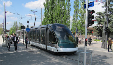 Photo: Day 27 - Tram in Strasbourg