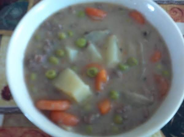 Savory Hamburger Stew Recipe