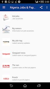 Jobs & News - náhled