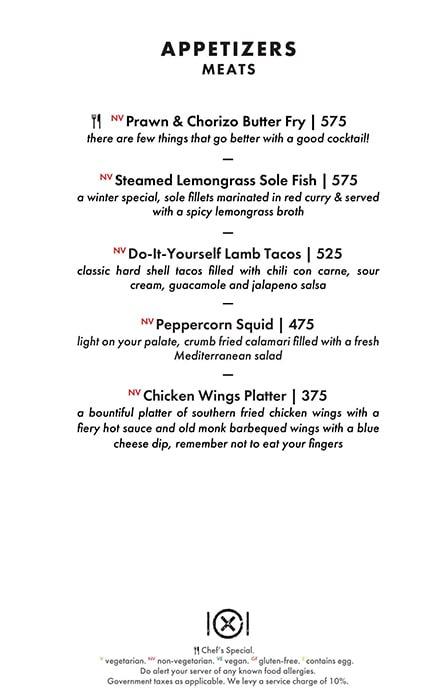 Dirty Apron menu 32