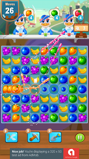 Juice Fun Fruits Match screenshot 2