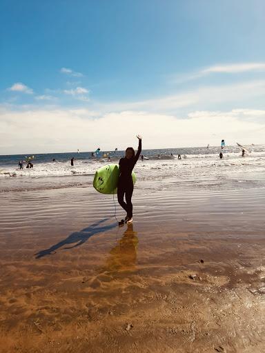 Spot parfait pour apprendre le surf