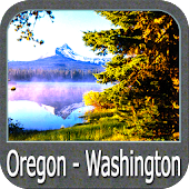 Oregon Washington GPS charts