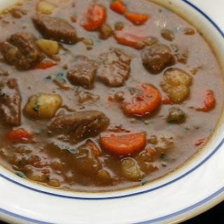 Crock Pot Autumn Vegetable Beef Stew.