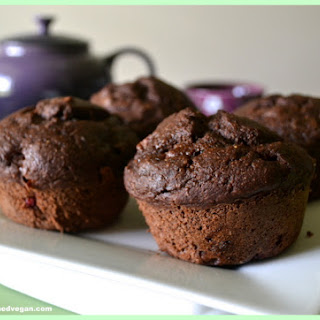 Chocolate Peanut Butter & Jelly Muffins