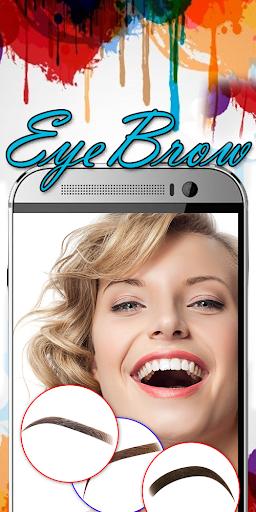 Eyebrow Shaping App - Beauty Makeup Photo 6.1 screenshots 16