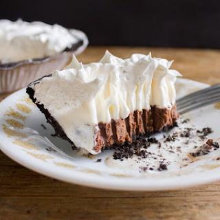 Nutella and Creole Cream Cheese Ice Cream Pie