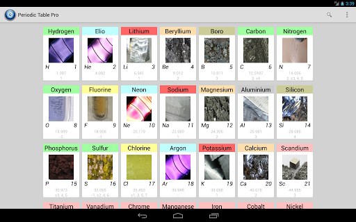 periodic table pro screenshot 6 - Periodic Table Pro Apk Free