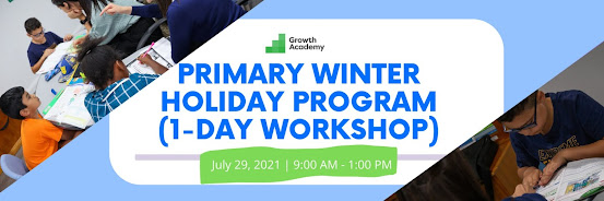 Primary Winter Holiday Program (1-day workshop)