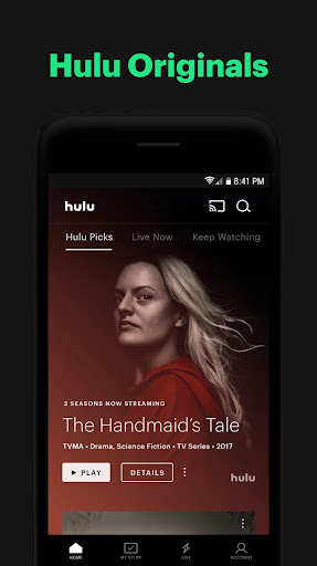 Hulu: Stream TV shows, hit movies, series & more 3.65.0.308030 screenshots 1