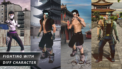 Kung fu street fighting game 2020- street fight 1.12 screenshots 8