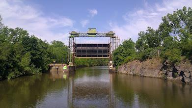 Photo: A flood gate on the canal