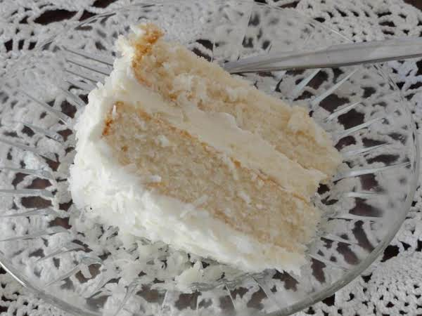 Coconut Cake With Coconut Buttercream Icing Recipe