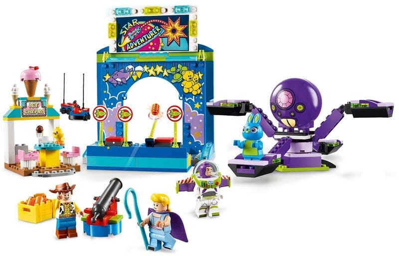 Contenido de Lego® 10770 Buzz y Woody: Locos por la Feria