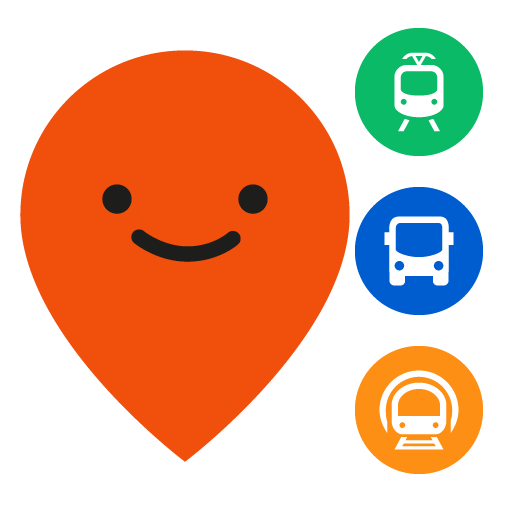 Moovit: Bus Times, Train Times & Live Updates Icon