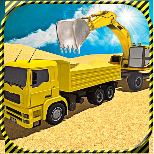 Sand Excavator Truck Sim 2017 (game)