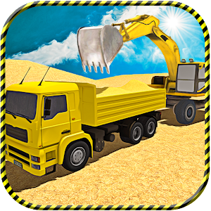 River Sand Excavator Sim 2017 for PC and MAC